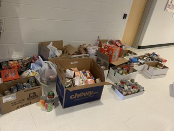 Almost 700 Items Donated!