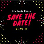 Save the Date 8th Graders!