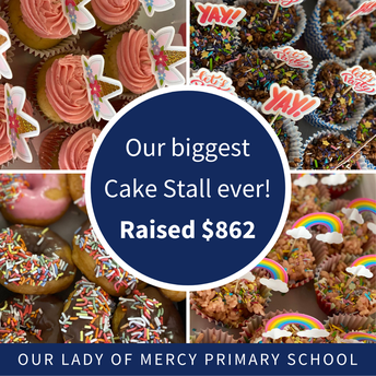 Our biggest P&F Cake Stall ever!