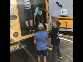 All buses were evacuated in less than 90 seconds for our annual evacuation drill.