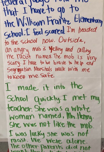 Second Grade Works for Equality