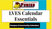LVES Calendar Essentials