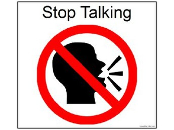 Use Visuals and Stop Talking