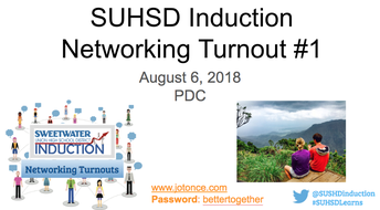 Induction Networking Turnout #1