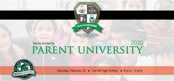 Have You Registered for Parent U?