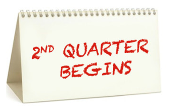 2nd Quarter Starts on Monday!