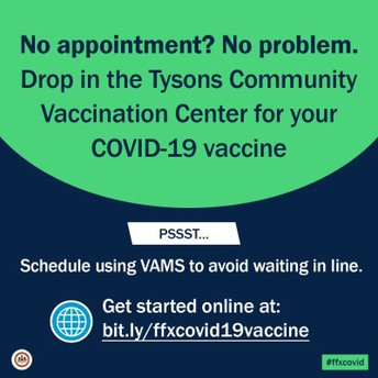 Vaccines Available Now, No Appointment Necessary