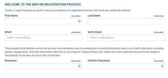 Create your Parent Portal Account!