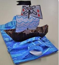 Paper Sculpture- go 3-D