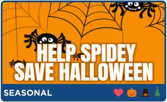 Help Spidey Save Halloween