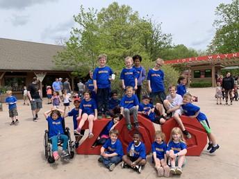 1st grade at FW Children's Zoo