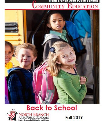 Community Ed fall brochure is available!