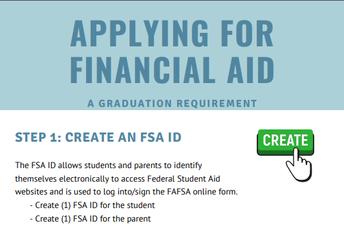 Step 1: Create your FSA ID