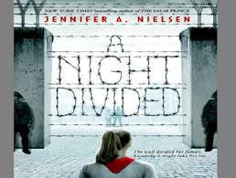 The Book Club is reading A Night Divided by Jennifer Neilsen.