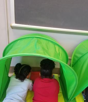 Partner Tent Reading