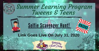 7/31-Selfie Scavenger Hunt