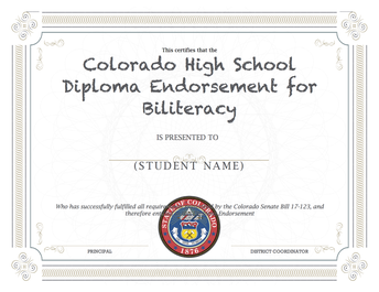 SCHS Earns Endorsed Diploma for Biliteracy