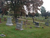 Field trip to Oakland Cemetery - linked with Visiting Author