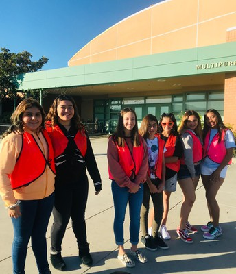 Honor Society and DFY Traffic Helpers