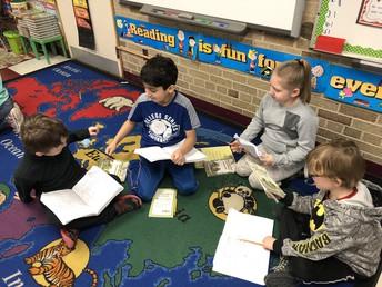 2nd Grade Book Clubs