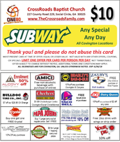 Discount Cards are available!