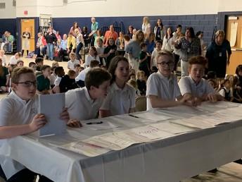 8th Grade Talent Show Judges