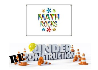 """Math Rocks"" Canvas course will be under reconstruction this summer."