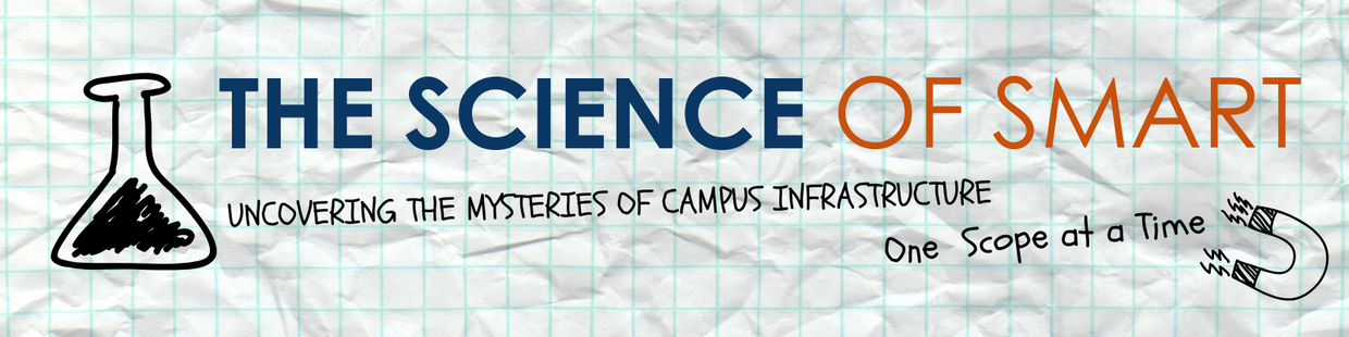 The Science of SMART: uncovering the mysteries of campus infrastructure, one scope at a time