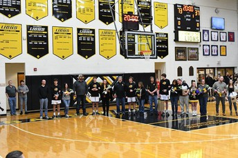 Senior Night Ceremony