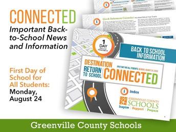 GCS Back to School Information for Parents