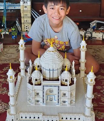David - The Taj Majal