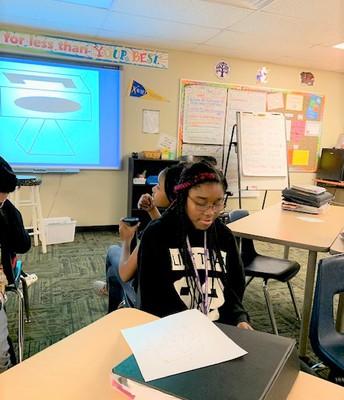 AVID students focus on communication
