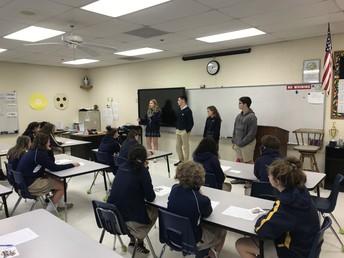 8th Grade - JPIICS Student Ambassador Visit