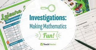 Investigation Math Games