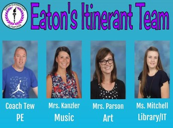 From Your Itinerant Teachers: