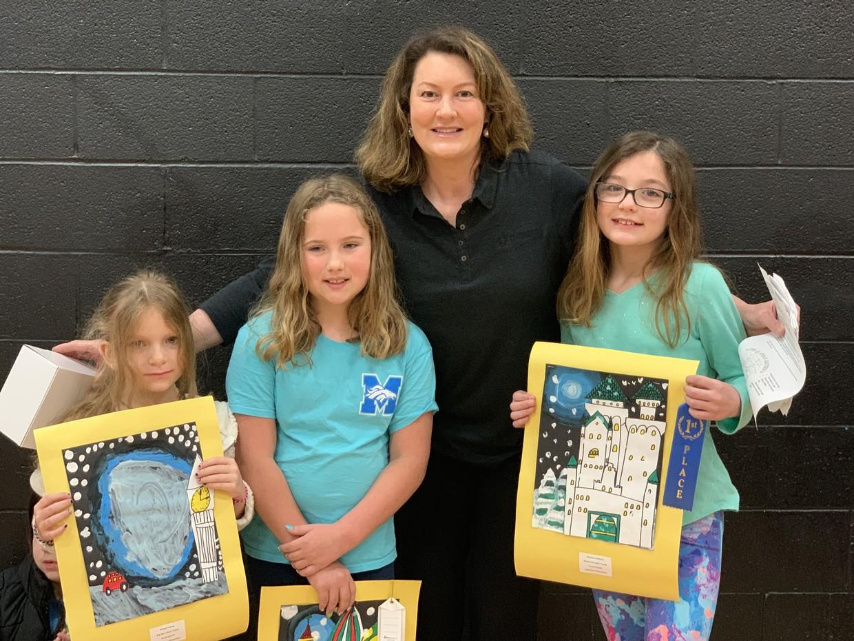Intrust Bank Art Contest Winners: