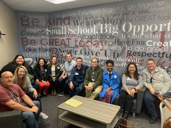 A visit from San Marcos Unified