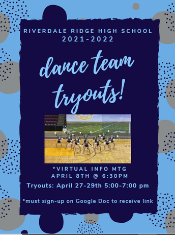 Riverdale Ridge 2021-2022 Dance Team