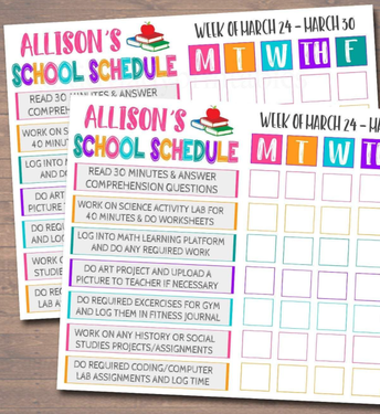 Use Schedules And Checklists