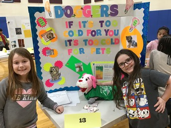 Invention Convention Participants with their display