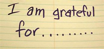 Students are thankful for...