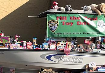 CCPD/Cape Toy Drive!