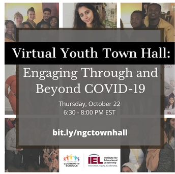 Virtual Youth Town Hall: Engaging Through and Beyond COVID-19