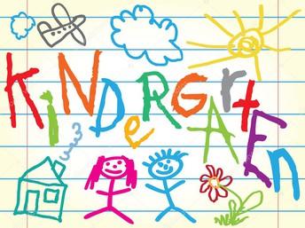 Kindergarten Kickoff 2021-2022