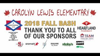 Fall Bash Thank you!