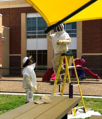 Beekeepers - Mr. George Coates  and Ms. Christina Eaton Brooks