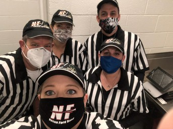 Our Team Members during the Detroit Lions game on 11/22