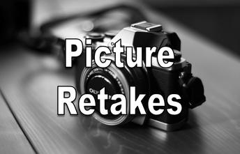 Picture Retakes/Make Up Days next week