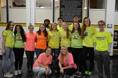 FPS wore Neon or a Pop of Color on Tuesday!