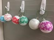 Eggbot Ornaments